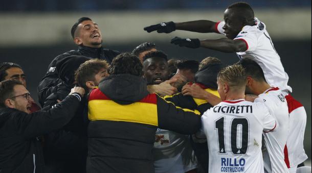 Verona-Benevento 2-2