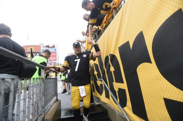 Big Ben and the Steelers lost to the Ravens last week (Photo: AP Photo/Don Wright)