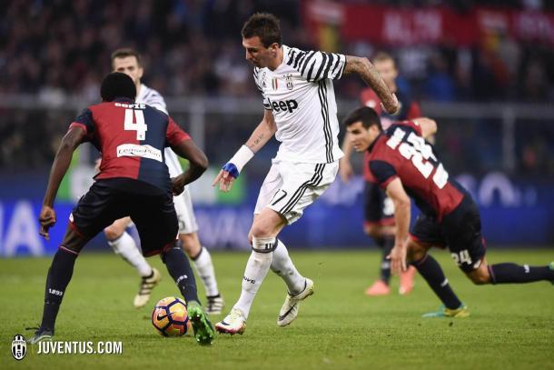 dalla vittoria del Genoa dell'anno scorso con Mario Mandzukic in primo piano. | juventus.com