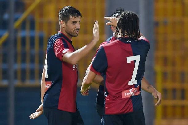 Uno scatto da un'amichevole vinta dal Genoa contro l'Heerenveen per 4-0. | pianetagenoa1893.net