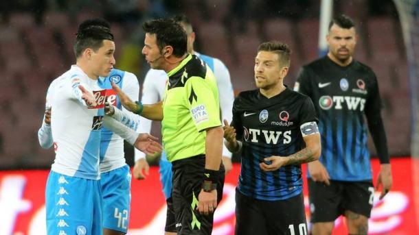 Uno scatto dal Napoli-Atalanta della scorsa stagione, terminato sul risultato di 0-2. | Corriere dello Sport