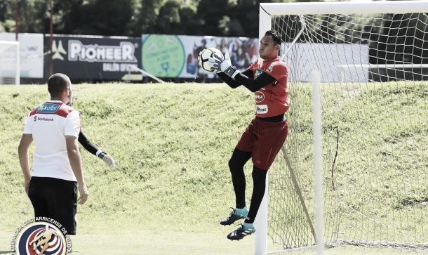 El tico se prepara de la mejor manera para las Eliminatorias   Foto: Federación Costarricense de Fútbol