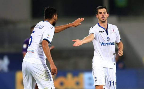 Freuler ha siglato il gol del pareggio allo scadere contro la Fiorentina. | Sky Sport.