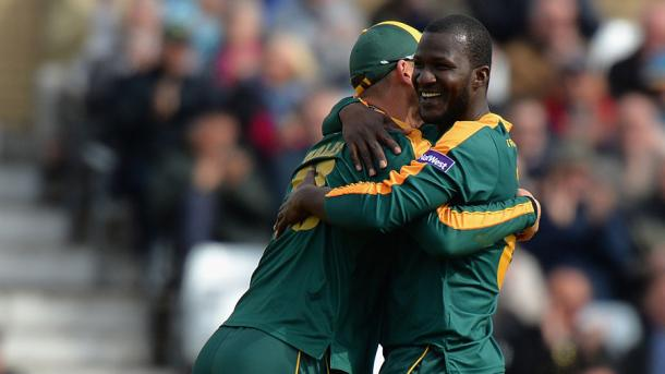 Darren Sammy enjoyed his time with Nottinghamshire in 2015 (image via: cricinfo)