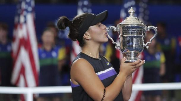 Andreescu will look to repeat as US Open champion after taking the title in 2019 in spectacular fashion/Photo: Charles Krupa