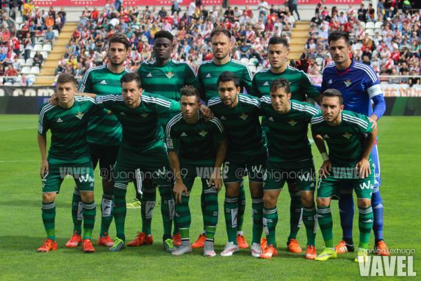 El 11 del Real Betis en un partido contra el Rayo esta temporada // FOTO: Juan Ignacio (VAVEL)
