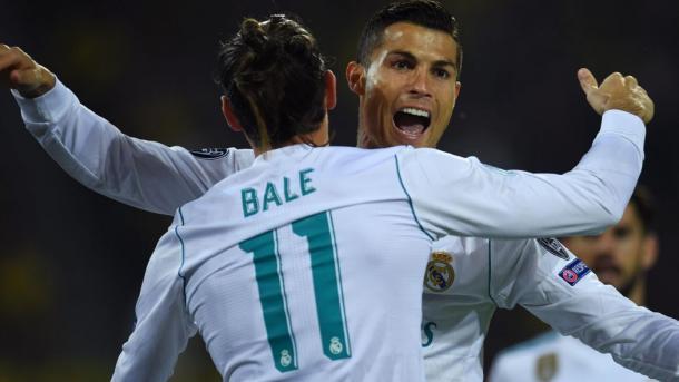 Cristiano Ronaldo y Gareth Bale | Foto: Real Madrid