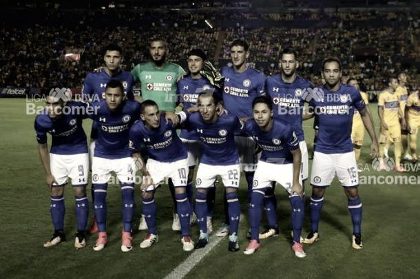 Cruz Azul en su último encuentro de Copa Mx. | Foto: Liga Mx