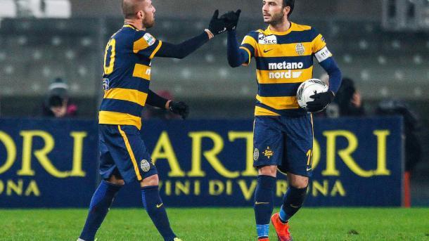 Benevento-Verona 2-2