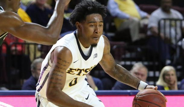 Cromer is the reason ETSU shared the regular-season title/Photo: East Tennessee State athletics website