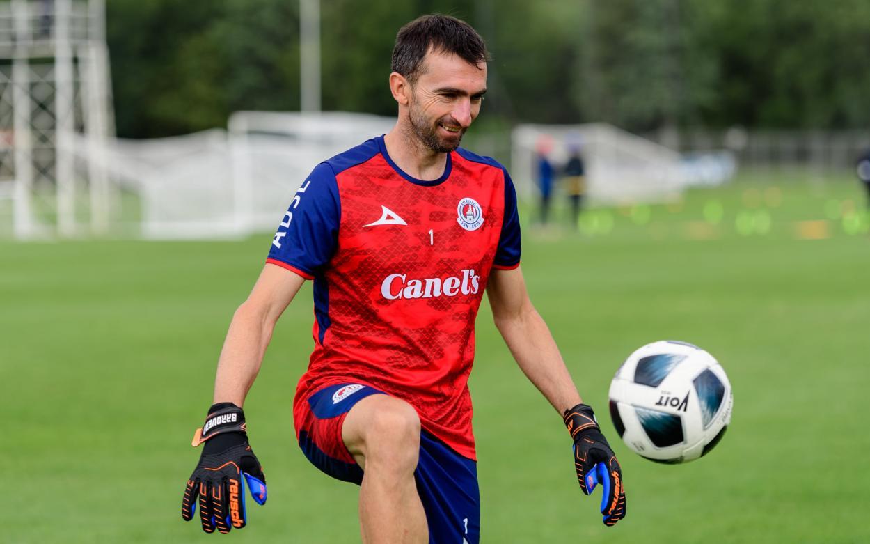 Marcelo Barovero. Foto: Atlético de San Luis.