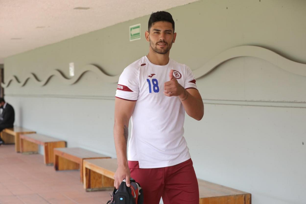 Lucas Passerini. Foto: Cruz Azul FC