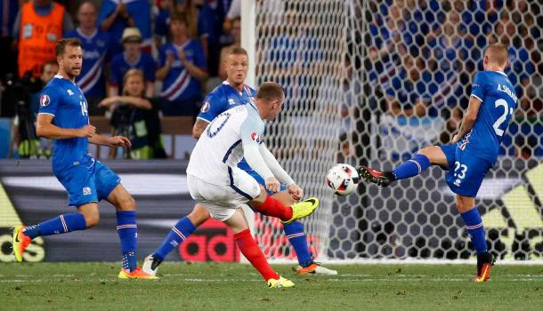 Rooney payed one of his worst games for England against Iceland (Photo: Eric Gaillard/Reuters)