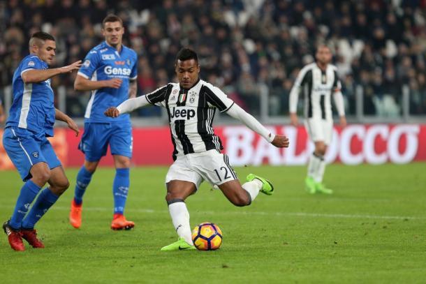 Alex Sandro è stato tra i migliori in campo nella Juventus. Foto: Repubblica
