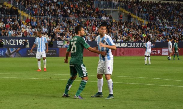El Málaga-Betis acabó en victoria visitante por un gol a cero/ Vavel