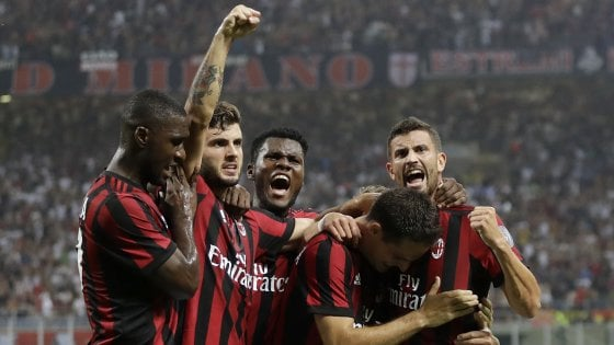 Milan, contro il Craiova un match da record: e che incassi…