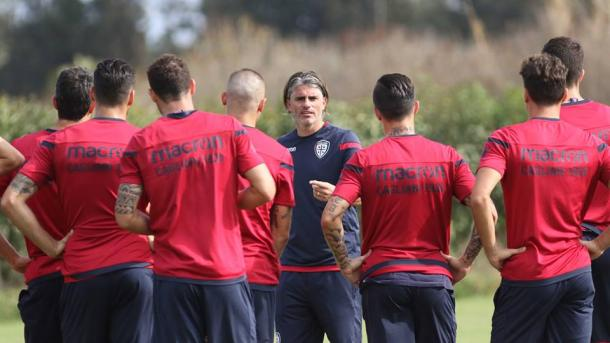 Allenamento Cagliari - Fonte: cagliaricalcio.com