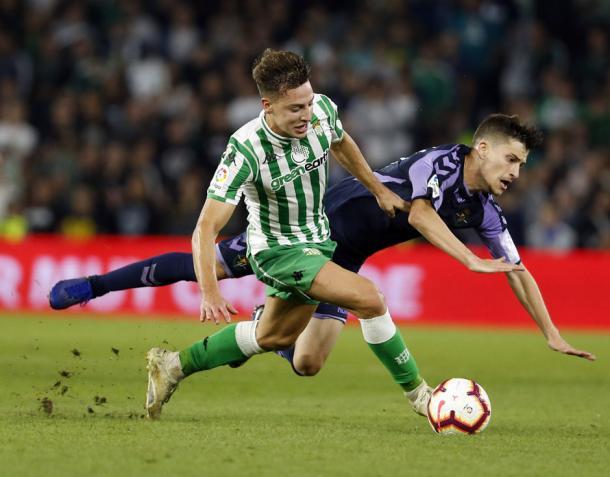 Encuentro de la temporada pasada entre el Real Valladolid y el Real Betis | Real Valladolid