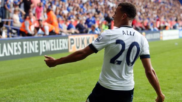 Alli se ha convertido en el segundo goleador del equipo. Foto: Tottenham