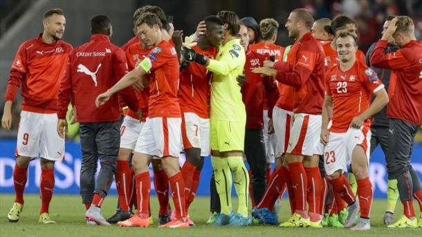 Switzerland come back to beat Slovenia. Photo: UEFA