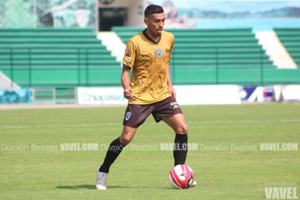 'Manny' Segura jugando para Tampico Madero en la Segunda División (Foto: Damián Besares)