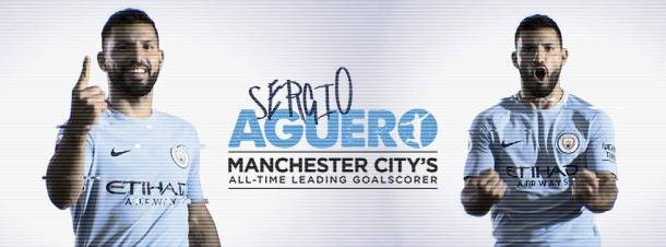 Con el gol de hoy, Aguero se convierte en el máximo goleador histórico del City / Foto: Manchester City