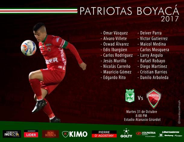 Foto: @patriotasboySA