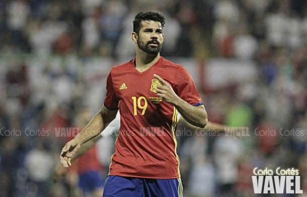 Diego Costa no irá a la Eurocopa 2016. // Foto: VAVEL (Carla Cortés)