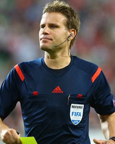 Il drettore di gara; Felix Brych - Fonte:Weltfussball.de