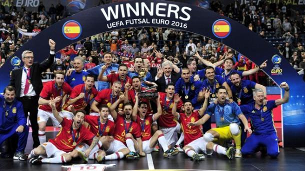 España, ganadora de la última edición en 2016 | Foto: UEFA