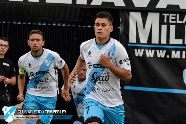 Franco Sosa tiene dos goles en su cuenta personal este Torneo con la Reserva | Foto: Prensa Temperley