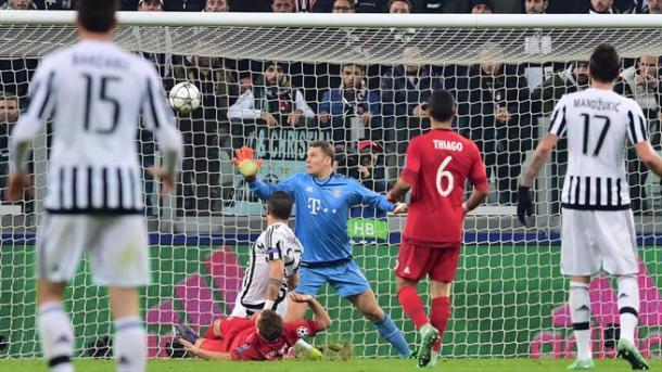 Sturaro marca el definitivo 2-2 del partido. // (Foto de es.uefa.com)