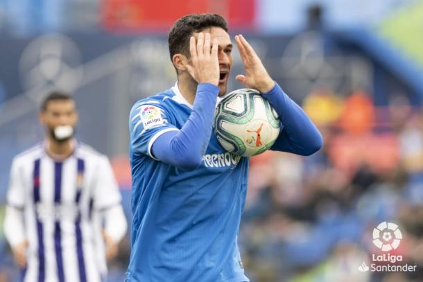 Jorge Molina, capitán del Getafe | Fuente: LaLiga