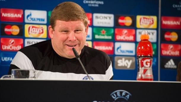 Hein Vanhaezebrouck confía en un milagro en Alemania. // (Foto de es.uefa.com)