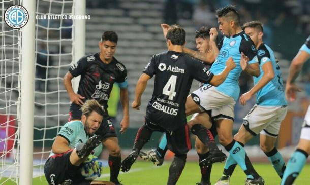 Colón se quedó con el último partido entre ambos | Foto: Prensa Belgrano.
