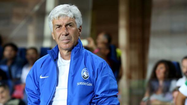 Gian Piero Gasperini sta trascinando l'Atalanta nelle zone alte della classifica