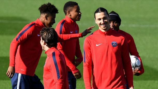 Il PSG alla vigilia del match con il City. Fonte: AFP/Getty Images.