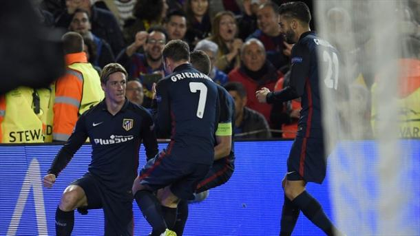 Torres al Camp Nou. Fonte: Getty Images.
