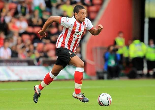 Oxlade-Chamberlain during his Saints days | Photo: london24.com