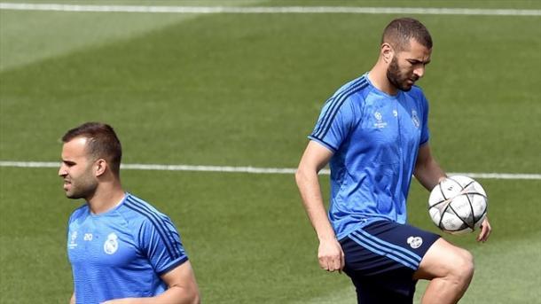 Jesé e Benzema - Source: UEFA.com