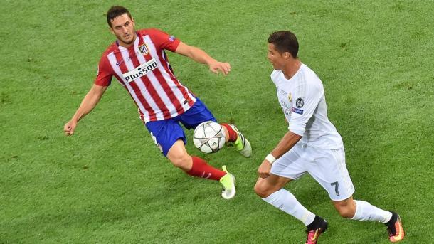 Koke e Ronaldo in azione. Fonte: it.uefa.com