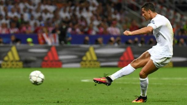 Il rigore decisivo di CR7. Fonte: it.uefa.com