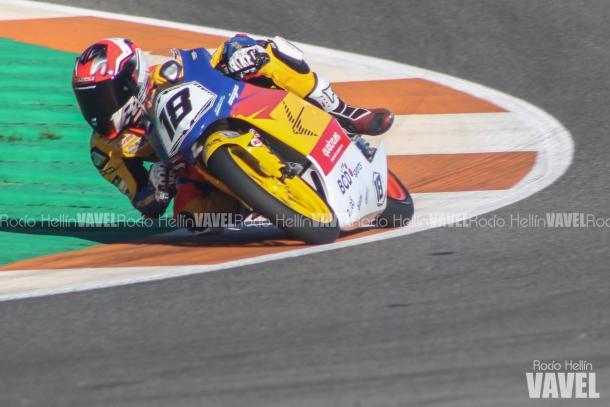 Durante la última carrera del Campeonato, en la que se proclamó Campeón. Foto: Rocío Hellín | Vavel España.