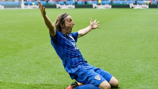 Modric arguably scored the best goal so far this summer | Photo: UEFA EURO