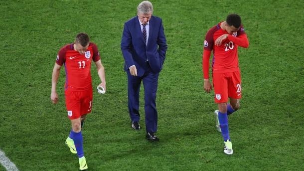 Vardy, Hodgson e Dele Alli. (fonte immagine: uefa.com)