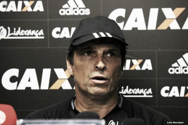 Milton Cruz assumiu o Figueirense em agosto de 2017 (Foto: Luiz Henrique / Figueirense FFC)