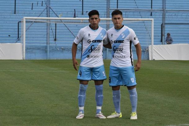 Franco y su hermano Agustín juntos | Foto : Prensa Temperley
