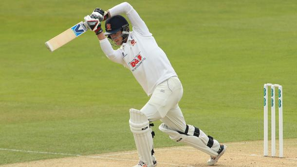Westley drives down the ground during his century | Photo: Getty Images