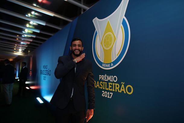 Com 18 gols, Henrique Dourado foi o artilheiro do Brasileirão (Foto: Divulgação/CBF)