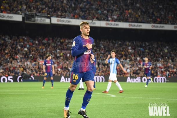 Gerard Deulofeu, titular y goleador en el partido frente al Málaga | Foto: VAVEL.com, Noelia Déniz